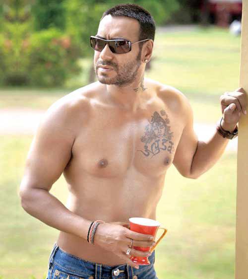 Shivaay Shooting Starting November 7 - DesiMartini  |Ajay Devgan Shiva Tattoo Designs