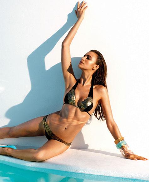 Swimwear trends 2013 Hot metallics and more!