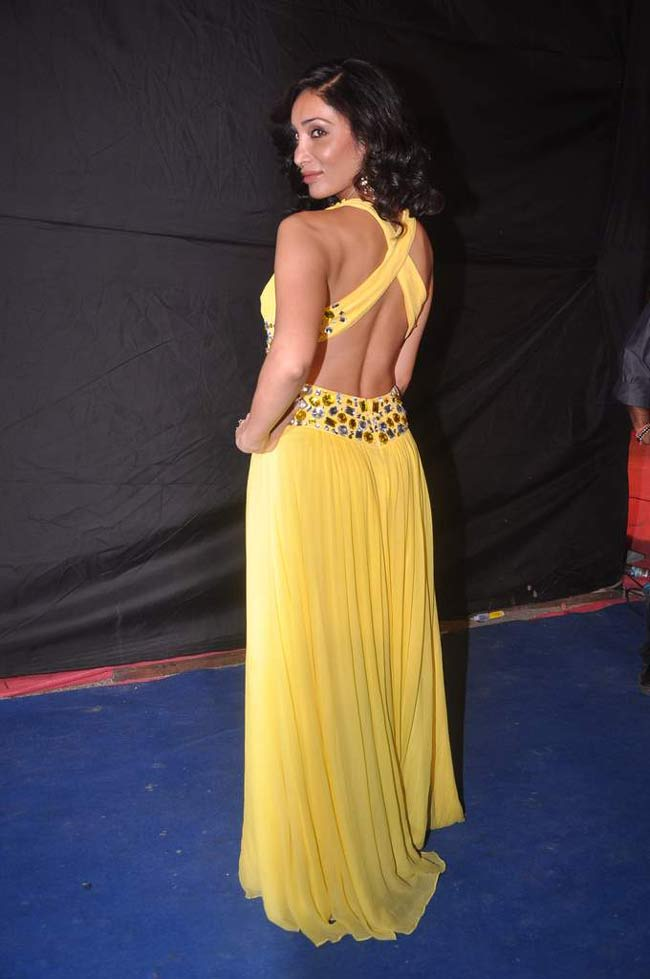 Celebs in Cutout Outfit