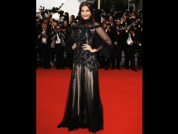 Sonam Kapoor's Fashionable Cannes Looks