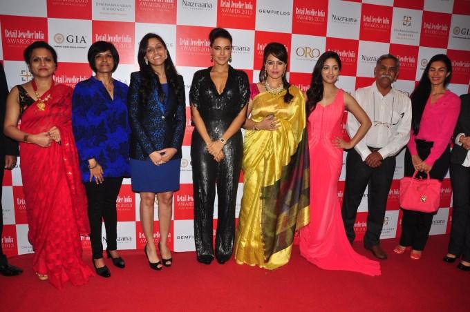 Gemfields RioTinto Jeweller India Awards 2013