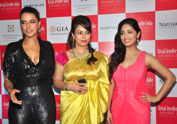 Gemfields RioTinto Jeweller India Awards 2013