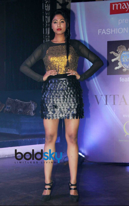 Sonalika Pradhan Fashion Show at Gitanjali