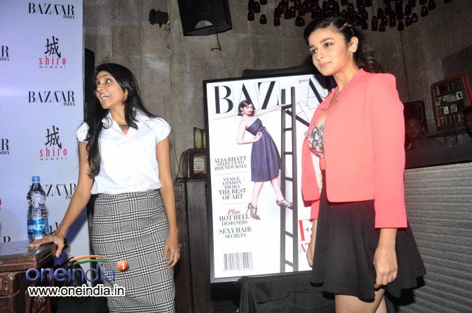 Unveiling of fashion magazine Harper's Bazaar 2013