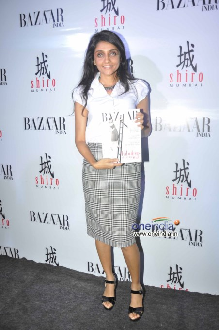 Unveiling of fashion magazine Harper's Bazaar 2013