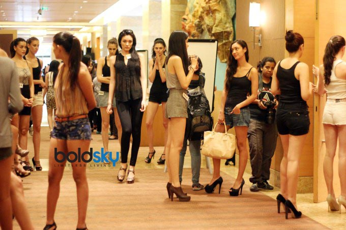 Audition of Lakme Fashion Week