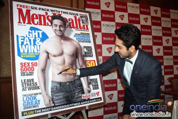 Ayushmann Khurrana launch Men's Health Magazine July cover