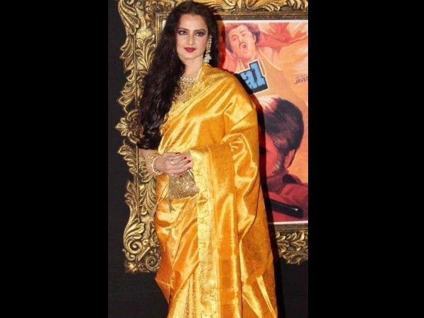 Celebrities In Silk Sarees