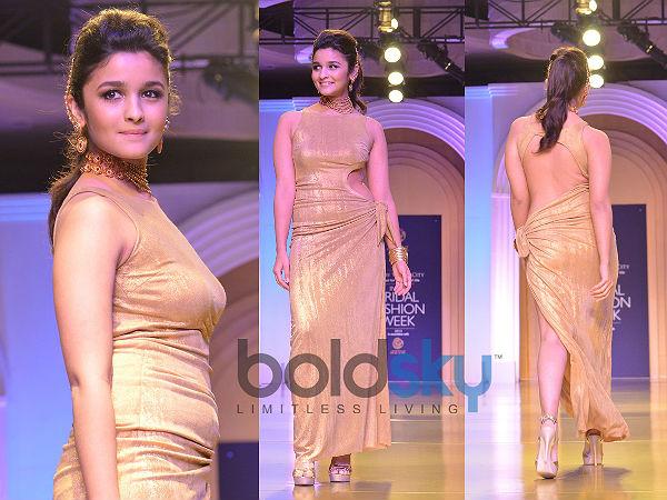 Day 6 Of IBFW 2013: Alia Bhatt Shines For AZVA