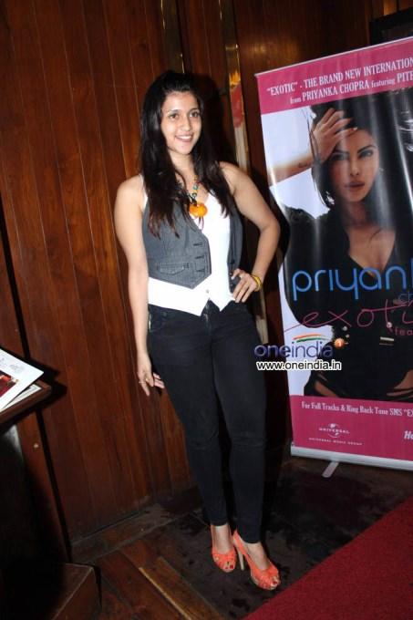 Priyanka Chopra Unveils her Exotica Music Album