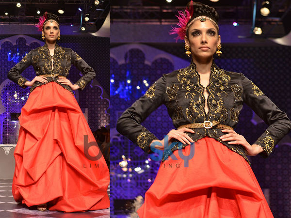 Raghavendra Rathore Gives Futuristic Look to Day 3 IBFW -2013