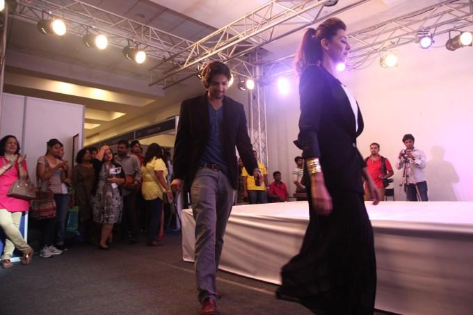 Shibani Dandekar & Ali Fazal at the 'Femina Carnival 2013