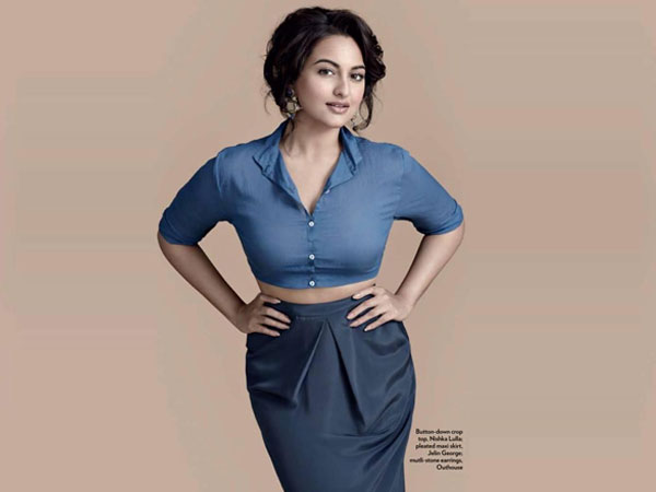 Sonakshi Sinha's Curvy Style On Marie Claire
