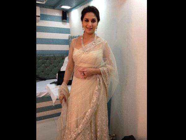Madhuri Dixit Wears Shehlaa By Shehla Khan