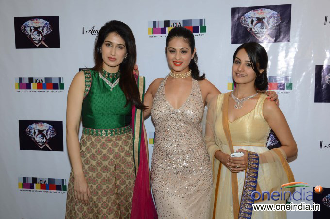 Amanaya art and Sagar Samir International Jewellery Fashion show