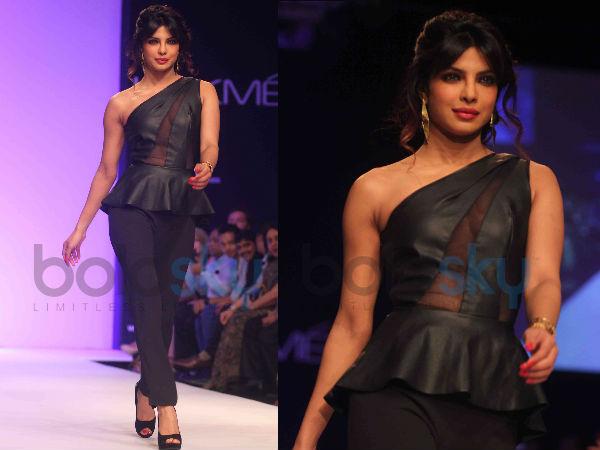 LFW 2013: Exotic Priyanka Chopra On Ramp!