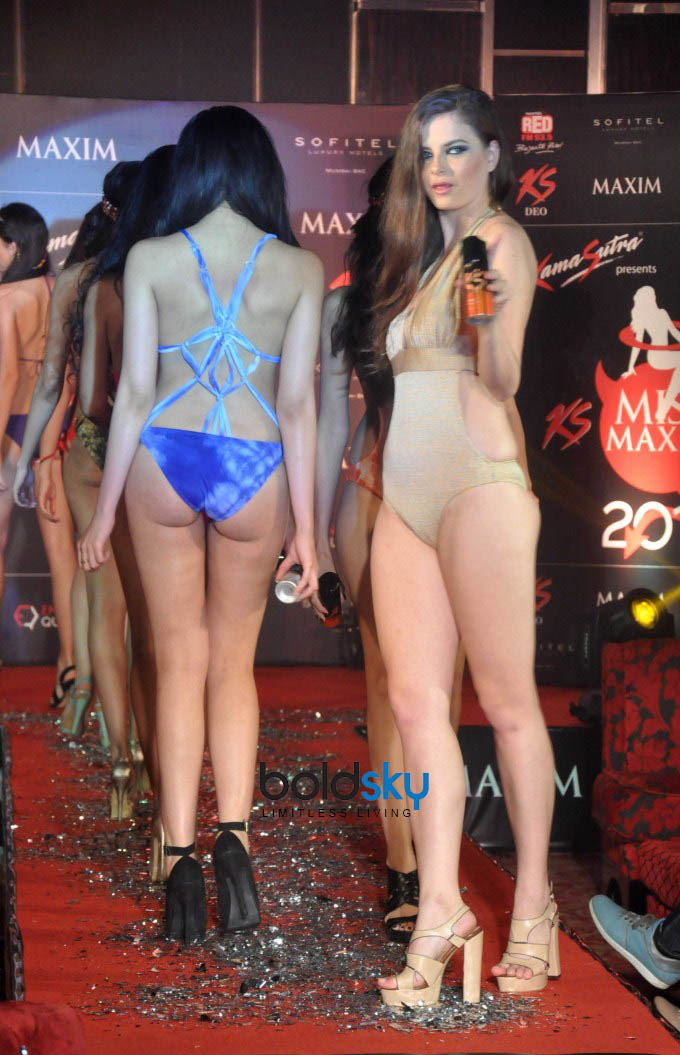 Magazine Launch of Maxim 2013