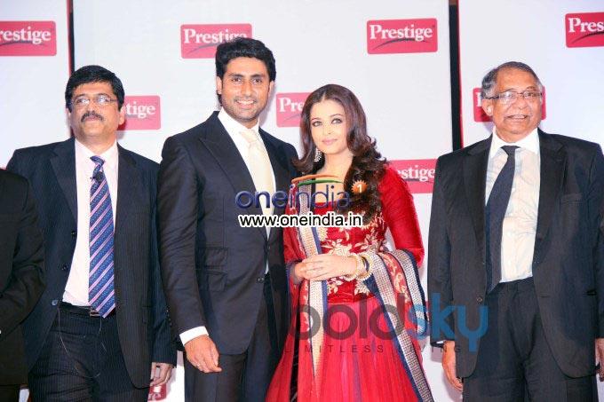 TTK Prestige signs Aishwarya, Abhishek as brand ambassadors Events