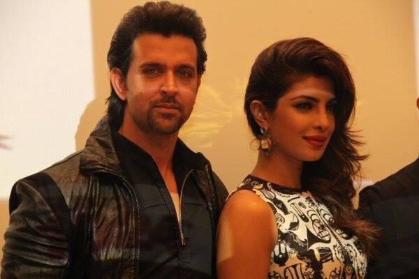 Hrithik Roshan and Pri...