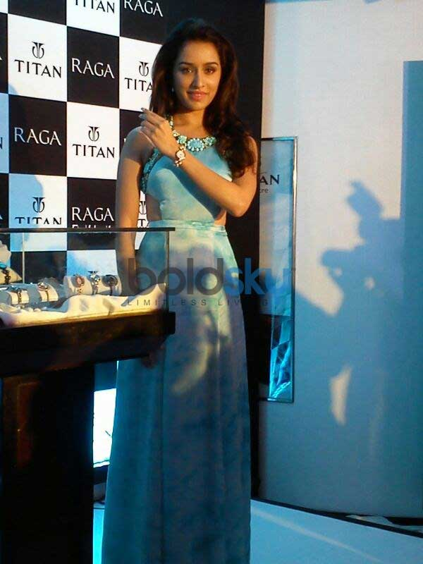 Shardha Kapoor  in Sonakshi Raj at Titan Ragas new collection launch