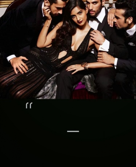 Sonam Kapoor GQ Men of the Year Oct 2013 photoshoot Photo Feature
