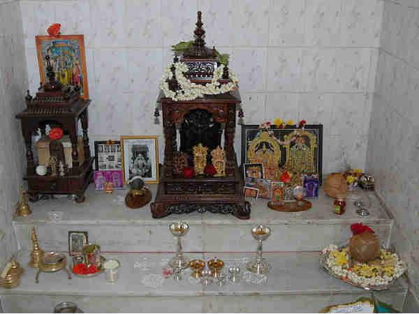 Lakshmi Ganesha Puja On Diwali Photos Pics 243463