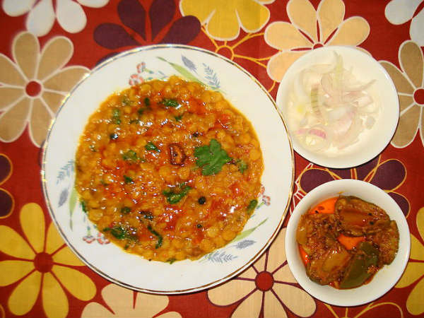 Cucumber Chana Dal Recipe
