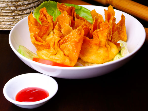 Fried Chicken Wontons Recipe For Snack