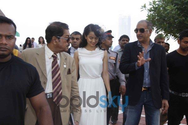 Kangana Ranaut at Metro Motors Auto Hangar Event