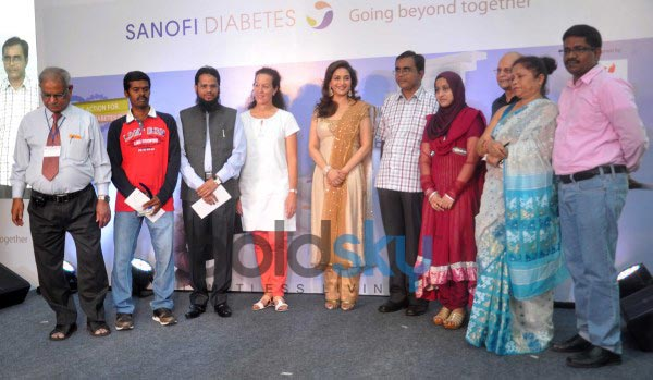 Madhuri Dixit launches diabetes campaign