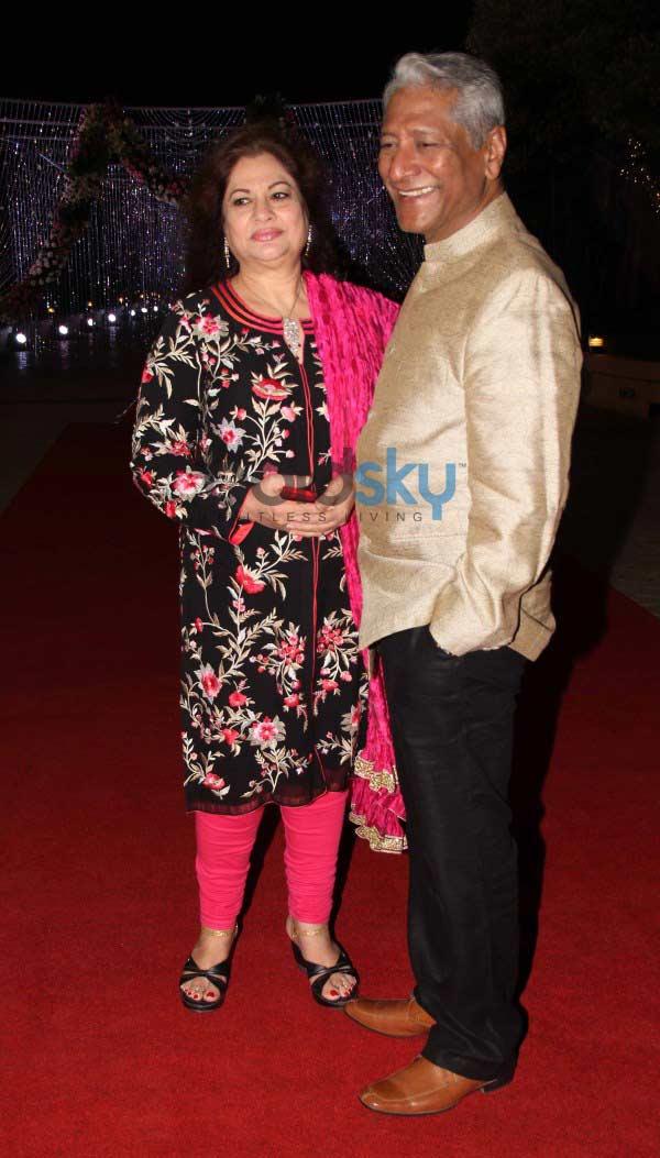 Aamna Sharif Amit Kapoor Wedding Reception