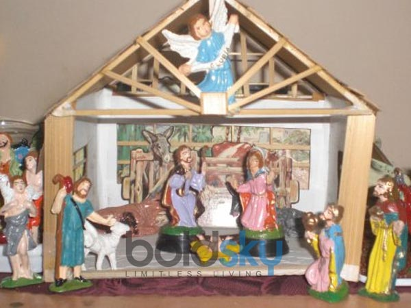 Decorate Christmas Crib For Your Home