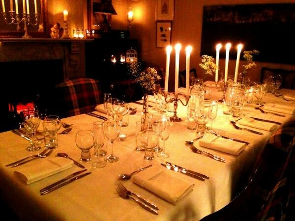 Dining Table Centerpiece Decorations For Christmas