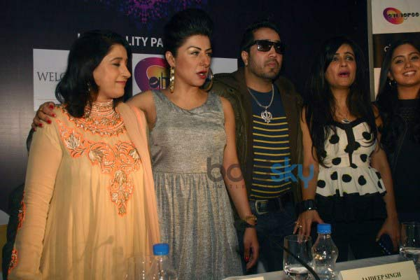 Press conference of MTV BOLLYLAND at Welcom Hotel Dwarka
