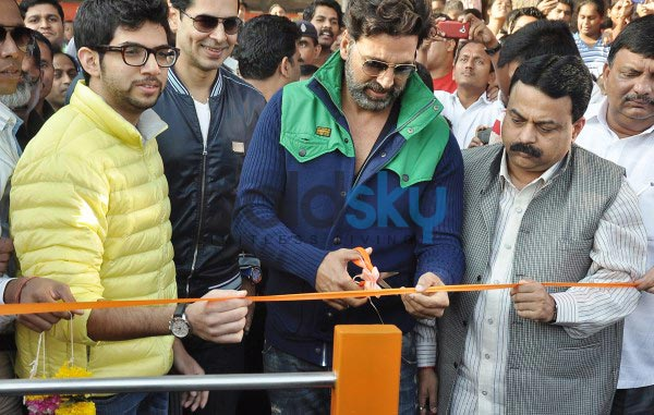 Dino Morea's Fitness studio Launch