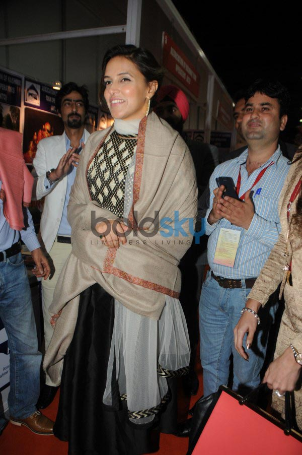 Neha Dhupia at the inaugration of IITT 2014
