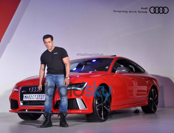 Salman Khan own and launches Audi RS 7 Sportback luxury car