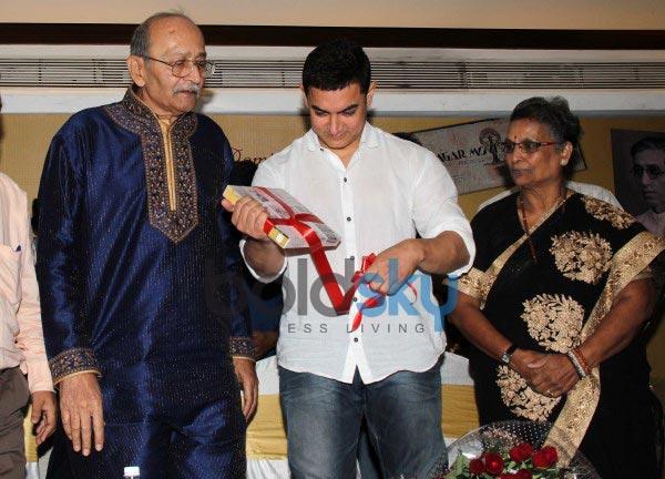 Aamir Khan launches book Sagar Movietone