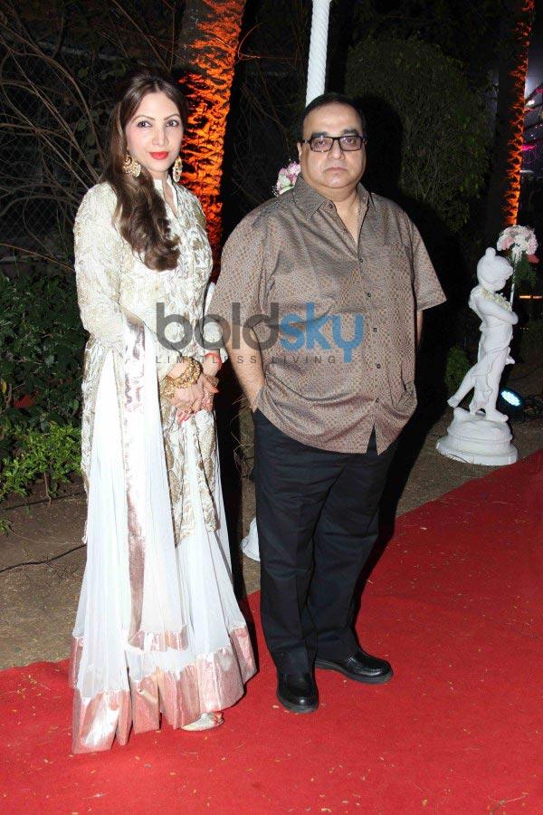 Celebs stuns at Aahana Deol and Vaibhav Vora Wedding Reception