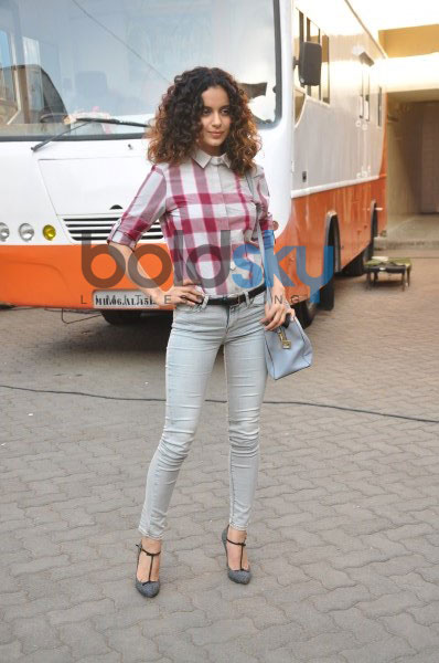 Kangana Ranaut spotted at mehboob studio