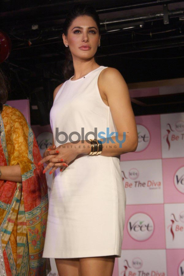 Nargis Fakhri at Veet Be the Diva contest