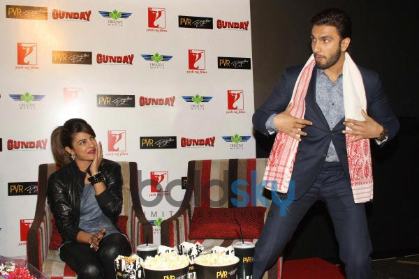 Priyanka Chopra stuns during Gunday Promotional Event