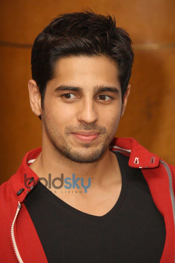 Siddharth Malhotra during Press Conference of Hasee To ...