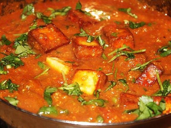 Spicy Paneer Masala Dinner Recipe