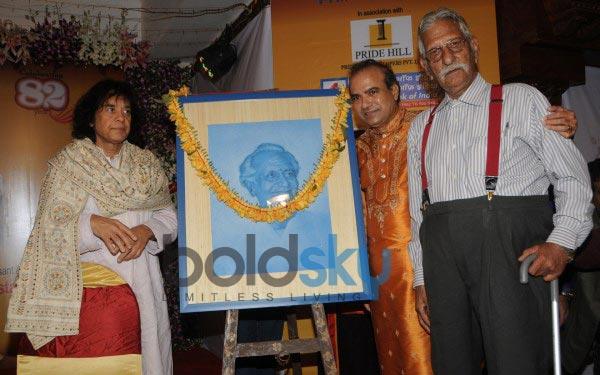 Ustad Ghulam Mustafa Khan honored at 14th Vasantotsav