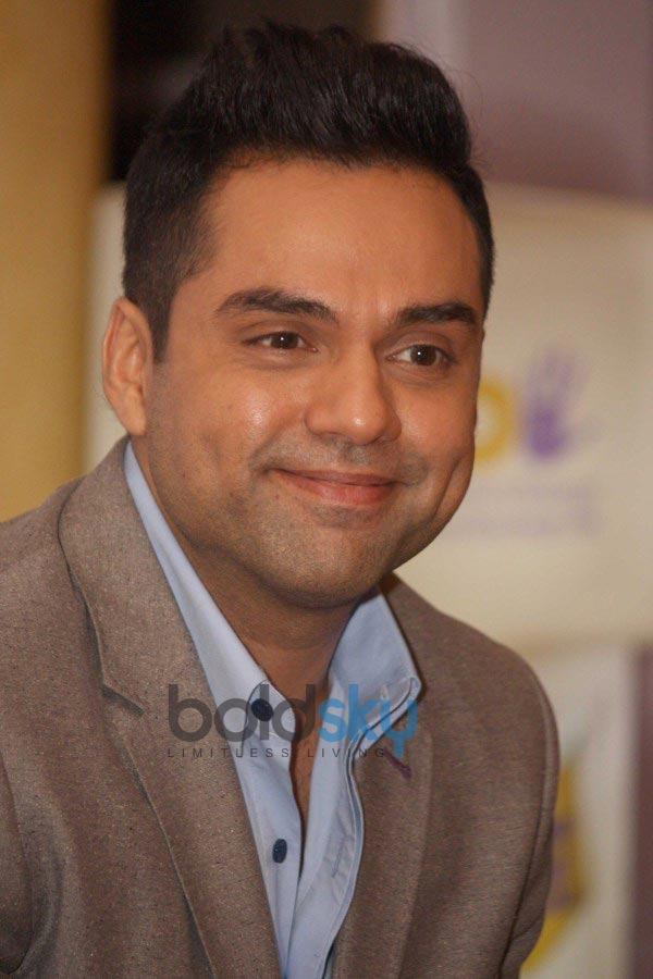 Abhay Deol at a press conference to promote Bindass shows