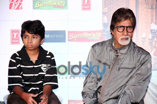 Amitabh Bachchan at BhoothnathReturns promotion