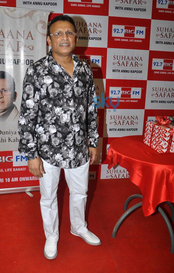 Annu Kapoor at the celebration of 92.7 BIG FM