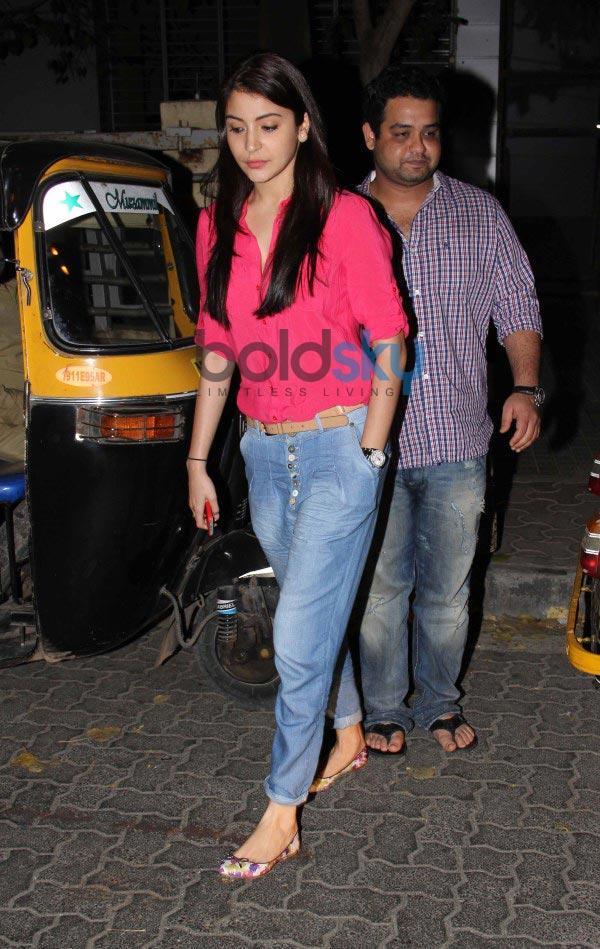 Anushka Sharma snapped at PVR Juhu
