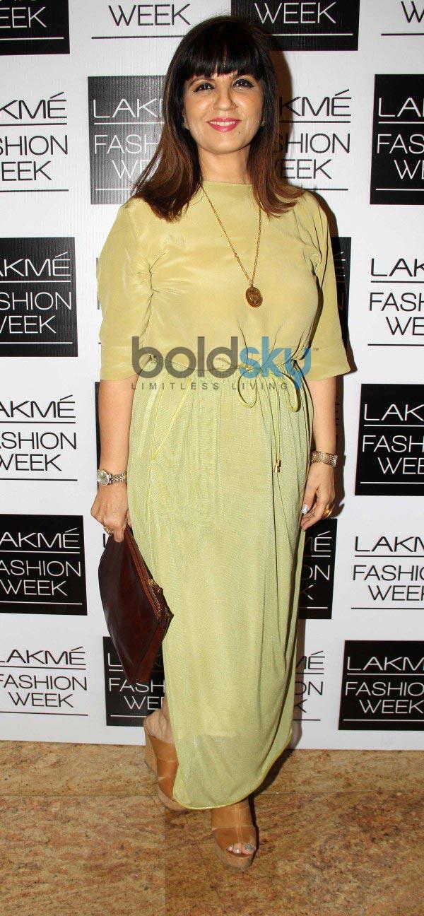 Bollywood Celebs at LFW 2014